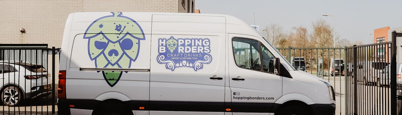 Hopping Borders beermobile